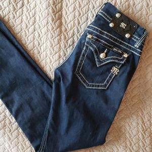 Miss Me Dark Denim Skinny Jeans Size 27